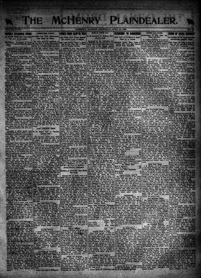 McHenry Plaindealer (McHenry, IL), 20 Apr 1922