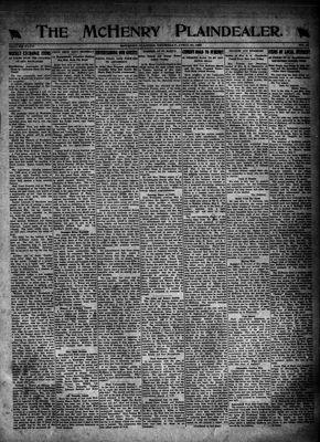 McHenry Plaindealer (McHenry, IL), 27 Apr 1922