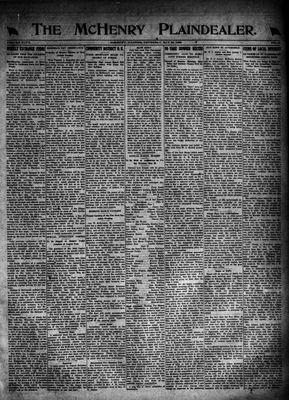 McHenry Plaindealer (McHenry, IL), 25 May 1922