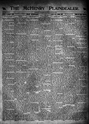 McHenry Plaindealer (McHenry, IL), 29 Jun 1922