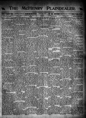 McHenry Plaindealer (McHenry, IL), 13 Jul 1922