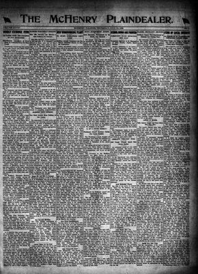 McHenry Plaindealer (McHenry, IL), 20 Jul 1922