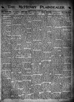 McHenry Plaindealer (McHenry, IL), 27 Jul 1922