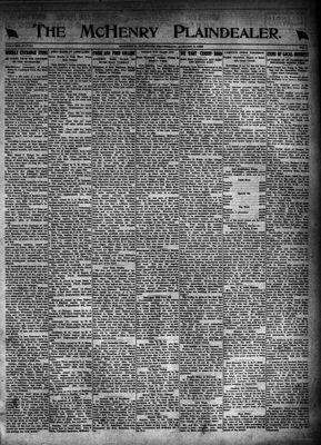 McHenry Plaindealer (McHenry, IL), 3 Aug 1922