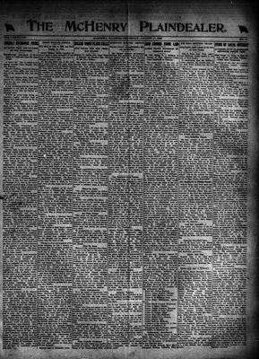 McHenry Plaindealer (McHenry, IL), 17 Aug 1922