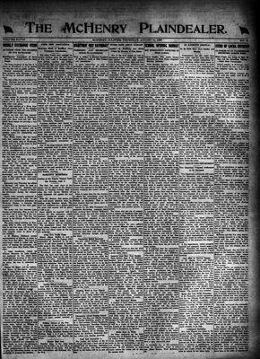 McHenry Plaindealer (McHenry, IL), 31 Aug 1922