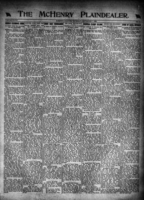 McHenry Plaindealer (McHenry, IL), 7 Sep 1922