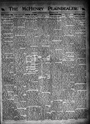 McHenry Plaindealer (McHenry, IL), 21 Sep 1922