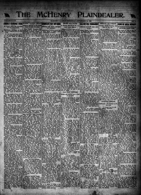 McHenry Plaindealer (McHenry, IL), 28 Sep 1922