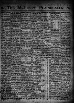 McHenry Plaindealer (McHenry, IL), 19 Oct 1922