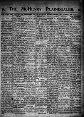 McHenry Plaindealer (McHenry, IL), 26 Oct 1922