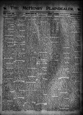 McHenry Plaindealer (McHenry, IL), 16 Nov 1922