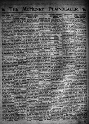 McHenry Plaindealer (McHenry, IL), 30 Nov 1922