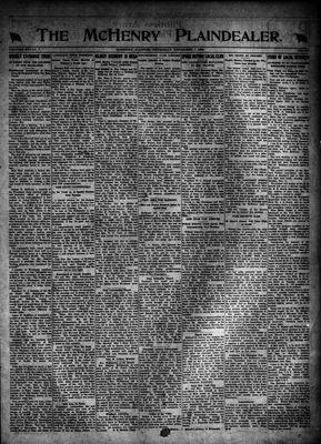 McHenry Plaindealer (McHenry, IL), 7 Dec 1922
