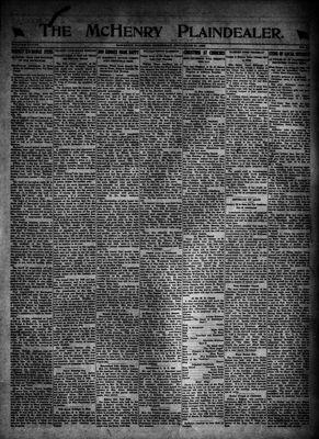 McHenry Plaindealer (McHenry, IL), 21 Dec 1922