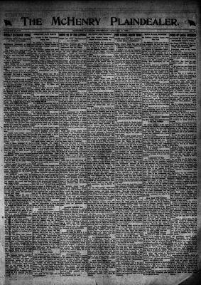 McHenry Plaindealer (McHenry, IL), 11 Jan 1923