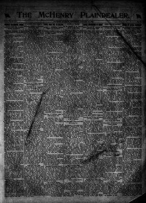 McHenry Plaindealer (McHenry, IL), 18 Jan 1923
