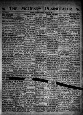 McHenry Plaindealer (McHenry, IL), 25 Jan 1923