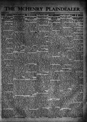 McHenry Plaindealer (McHenry, IL), 8 Feb 1923
