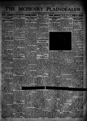McHenry Plaindealer (McHenry, IL), 8 Mar 1923