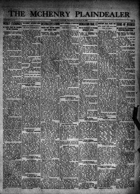 McHenry Plaindealer (McHenry, IL), 15 Mar 1923