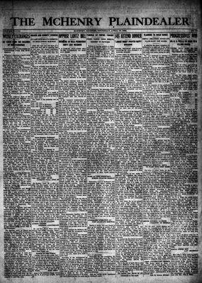 McHenry Plaindealer (McHenry, IL), 19 Apr 1923