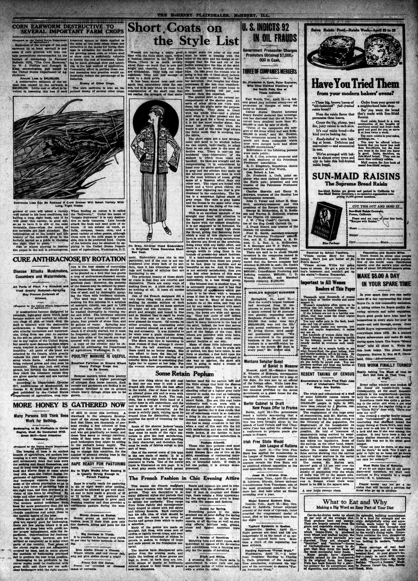 McHenry Plaindealer (McHenry, IL), 26 Apr 1923
