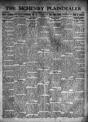 McHenry Plaindealer (McHenry, IL), 3 May 1923