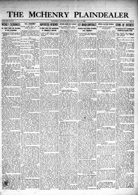 McHenry Plaindealer (McHenry, IL), 10 May 1923