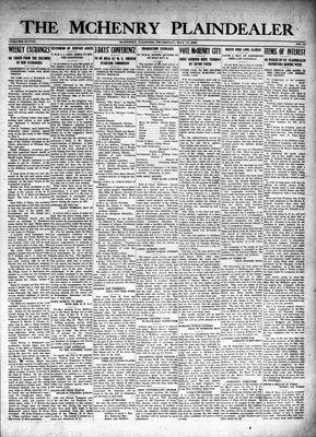 McHenry Plaindealer (McHenry, IL), 17 May 1923