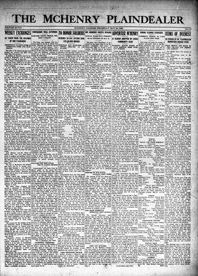 McHenry Plaindealer (McHenry, IL), 24 May 1923