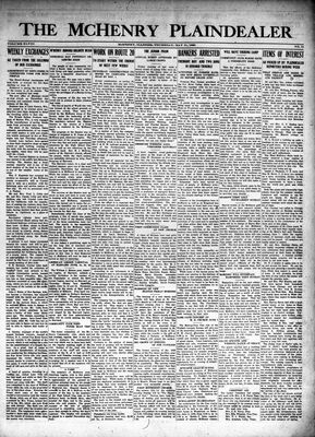 McHenry Plaindealer (McHenry, IL), 31 May 1923