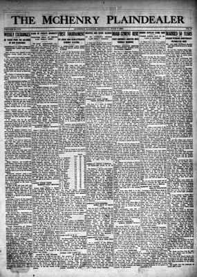 McHenry Plaindealer (McHenry, IL), 7 Jun 1923