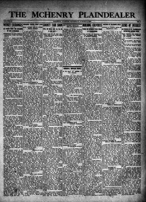 McHenry Plaindealer (McHenry, IL), 9 Aug 1923