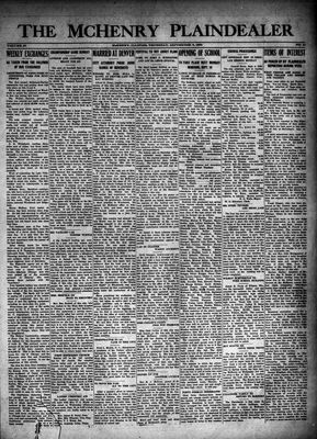 McHenry Plaindealer (McHenry, IL), 6 Sep 1923