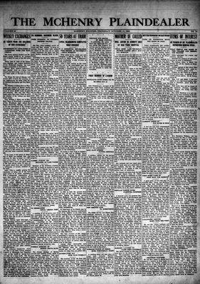 McHenry Plaindealer (McHenry, IL), 11 Oct 1923
