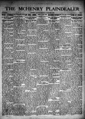 McHenry Plaindealer (McHenry, IL), 1 Nov 1923