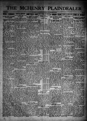 McHenry Plaindealer (McHenry, IL), 29 Nov 1923