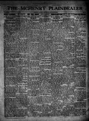 McHenry Plaindealer (McHenry, IL), 24 Jan 1924