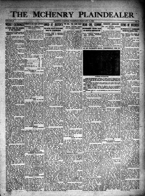 McHenry Plaindealer (McHenry, IL), 14 Feb 1924