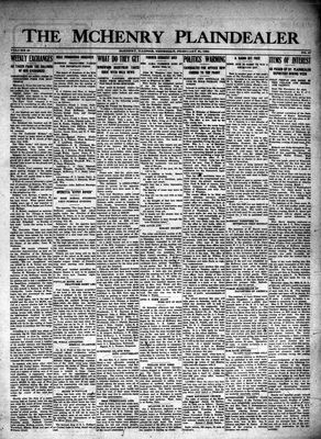 McHenry Plaindealer (McHenry, IL), 21 Feb 1924