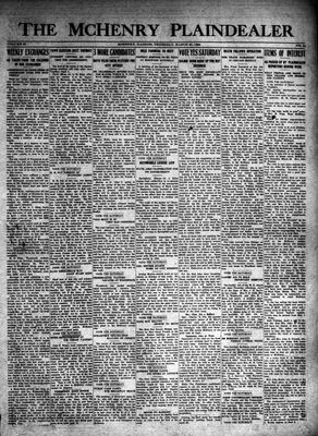 McHenry Plaindealer (McHenry, IL), 27 Mar 1924