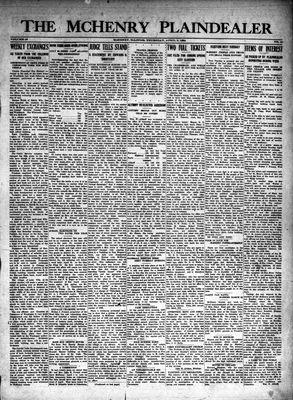 McHenry Plaindealer (McHenry, IL), 3 Apr 1924