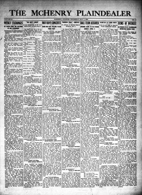 McHenry Plaindealer (McHenry, IL), 1 May 1924