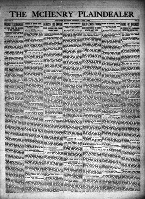 McHenry Plaindealer (McHenry, IL), 8 May 1924