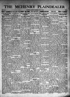 McHenry Plaindealer (McHenry, IL), 15 May 1924