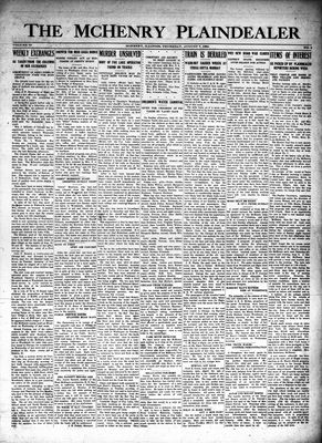McHenry Plaindealer (McHenry, IL), 7 Aug 1924