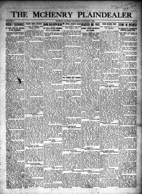 McHenry Plaindealer (McHenry, IL), 6 Nov 1924