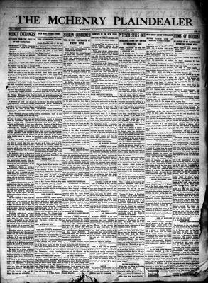 McHenry Plaindealer (McHenry, IL), 8 Jan 1925