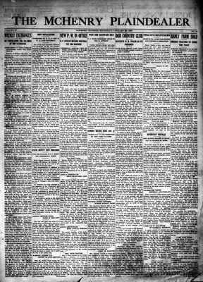 McHenry Plaindealer (McHenry, IL), 22 Jan 1925